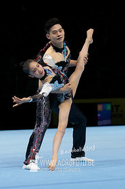 WCH Mixed Pair Qualification China - Dynamic
