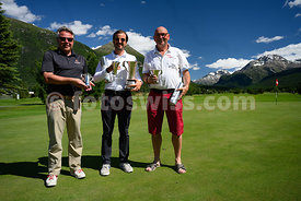 Samedan: 50. St. Moritz Gold Cup 04.07.2020 bis 05.07.2020.Netto - Silber Cup.1 Mazzotti, Maurizio Engadin 92.2 Gehrig, Beat ...