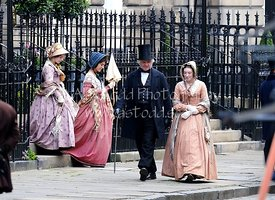 Filming Belgravia in Edinburgh