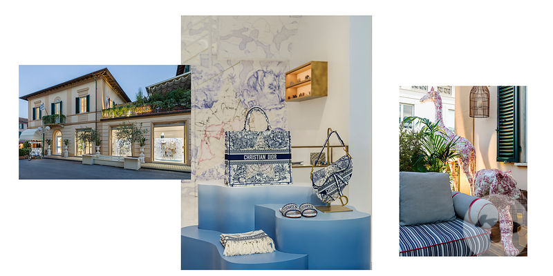 PHOTOGRAPHE BOUTIQUE PARIS : DIOR RESORT FORTE DEI MARMI