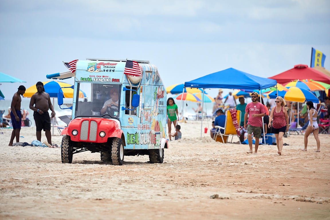 Daytona Beach ice cream van