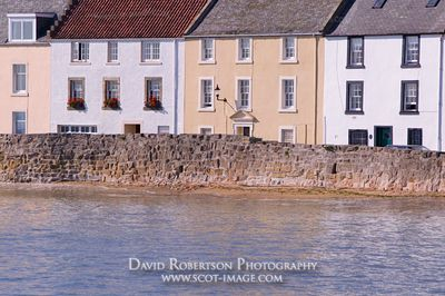 Image - Houses, Anstruther, East Neuk of Fife, Scotland.