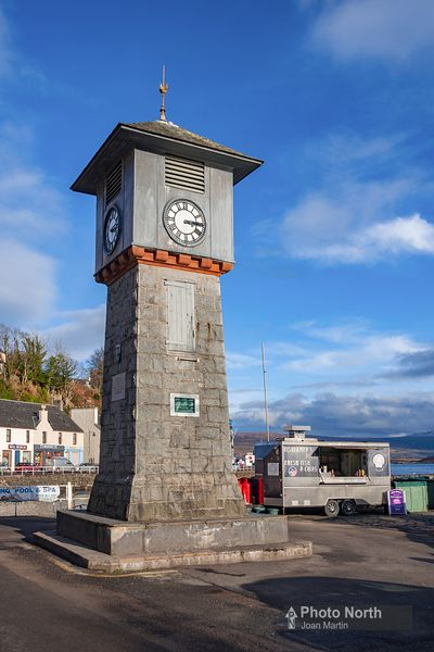 ISLE OF MULL 25A  Tobermory clock tower