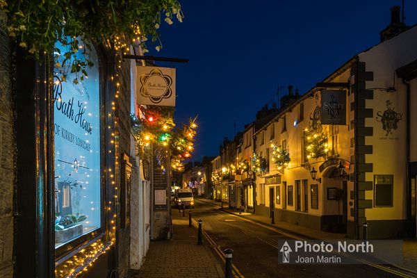 KIRKBY LONSDALE 15B - Main Street Christmas lights