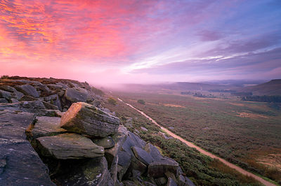 Upper Burbage October sunrise