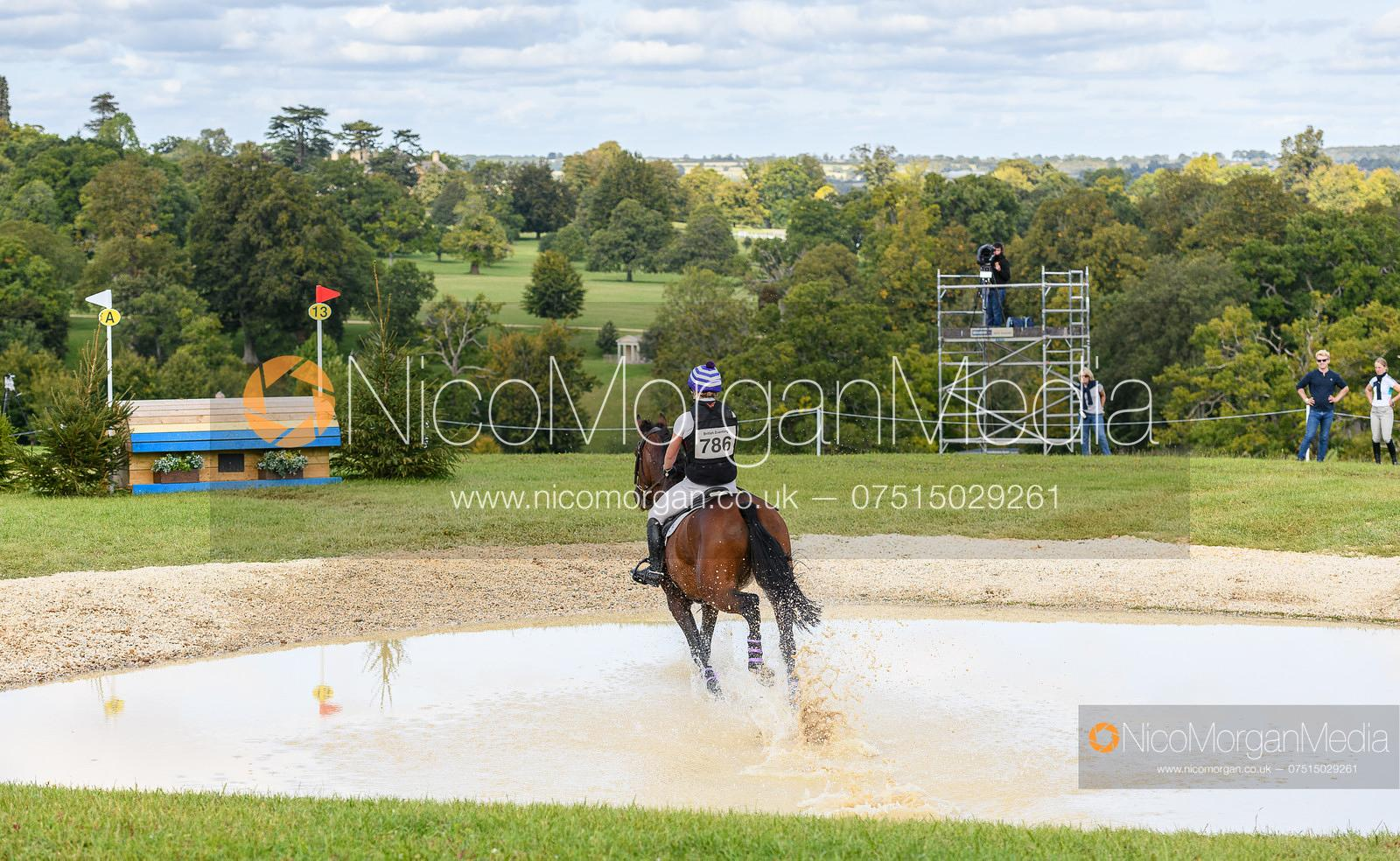 Polly Muirhead and CATHERSTON DEFINITIVE - Cornbury House Horse Trials 2020