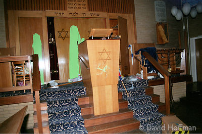 Vandalised Synagogue 5