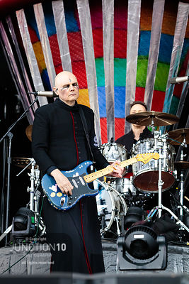Smashing Pumpkins at the Download Festival, Donington Park, Castle Donington, United Kingdom - 16 Jun 2019