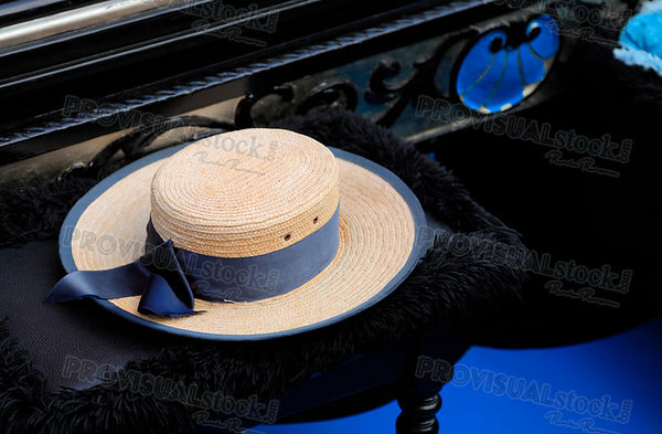 The hat of a gondolier