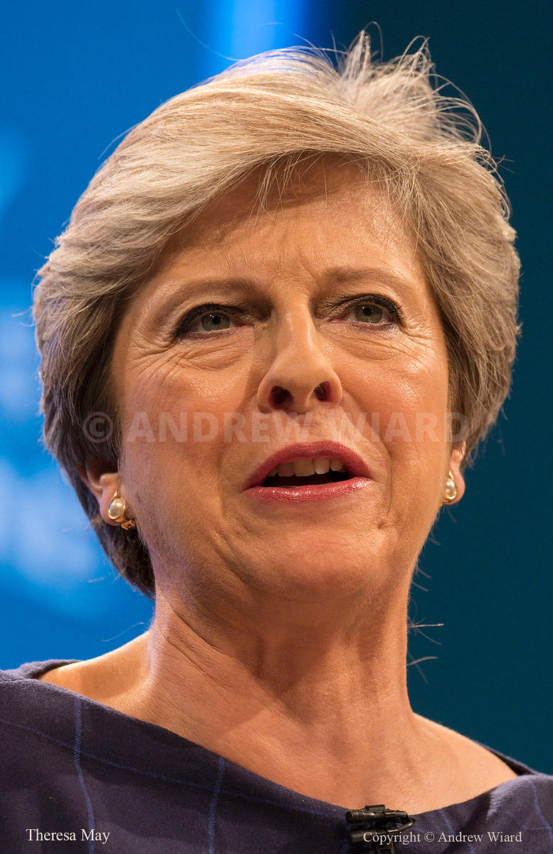 England, UK .4.10.2017. Manchester . Conservative Party Conference, Wednesday. Prime Minister Theresa May's speech.
