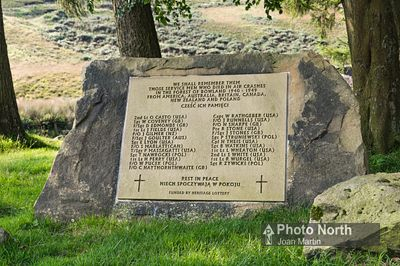 TROUGH OF BOWLAND 04A - We Shall Remember Them. War pilot memorial