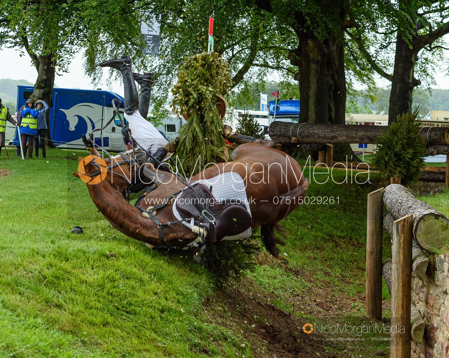 Matt Hecking and HARLE BELLE, Equitrek Bramham Horse Trials 2019