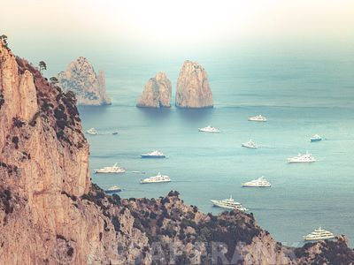 The Faraglioni Cliffs, Capri, Italy