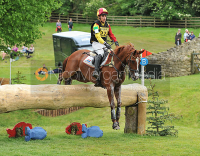 Merel Blom and UMBERTO DB - Equitrek Bramham International Horse Trials 2012