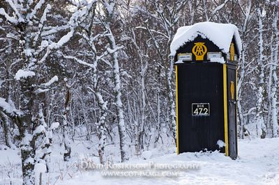 Image - The AA telephone box, A93, Cambus o May, Aberdeenshire, Scotland