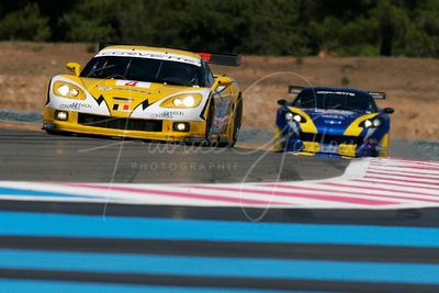 Mike Hezemans (NL), Bert Longin (BE) et Anthony Kumpen (BE), Corvette C6R. Team GLPK Racing. Action.