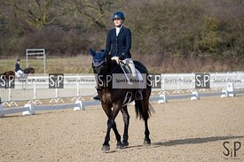BD. Dressage, Brook Farm. 22/02/2019. ~ MANDATORY Credit Elli Birch/Sportinpictures - NO UNAUTHORISED USE - 07837 394578