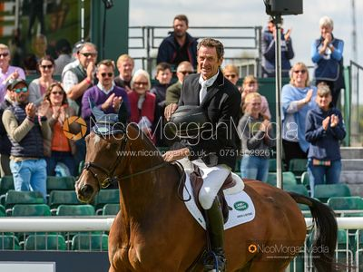 Mark Todd Retirement presentation - Land Rover Burghley Horse Trials 2019