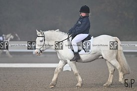 Unaffiliated dressage. Stapleford Abbotts. United Kingdom ~ MANDATORY Credit Garry Bowden/SIP photo agency - NO UNAUTHORISED ...
