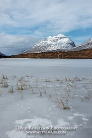 Image - Liathach and Loch Clair, Torridon, Scotland, Ice