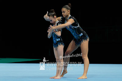 AG 13-19 Women's Pair Israel - Dinamic