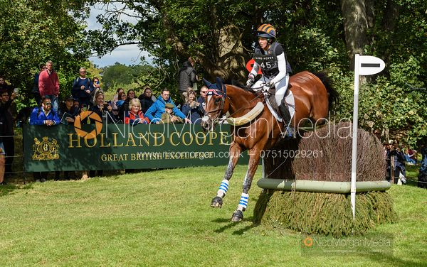 Elisabeth Halliday-Sharp and DENIRO Z - Cross Country - Land Rover Burghley Horse Trials 2019