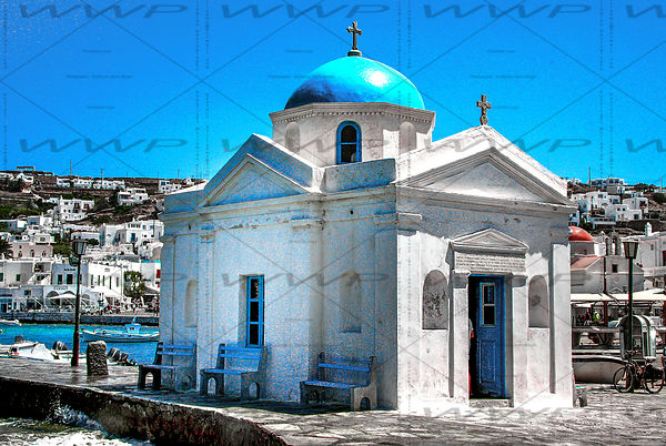 Orthodox chapel in Mykonos