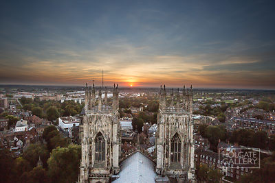 Minster sunset