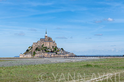 Mont Saint Michel, France, Normandie, printemps