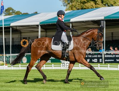 Gemma Tattersall and ARCTIC SOUL - Dressage - Land Rover Burghley Horse Trials 2019