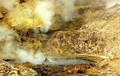 Sulfur springs of Soufrière -Saint Lucia