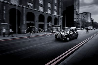 Traditionnel Black Cabs, Taxi anglais, Londres
