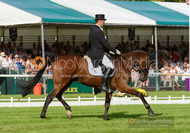 Bill Levett and IMPROVISE - Land Rover Burghley Horse Trials 2016