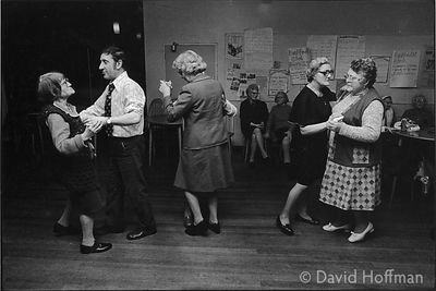 C71-17 Old people's clubs in Whitechapel and Shoreditch, 1974 & 1975.