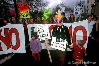 Anti GMO march London 1