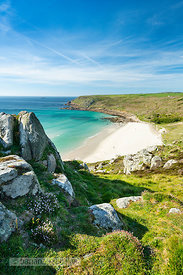 Gwynver (Gwenver) Beach, near Sennen, Cornwall - BP6742