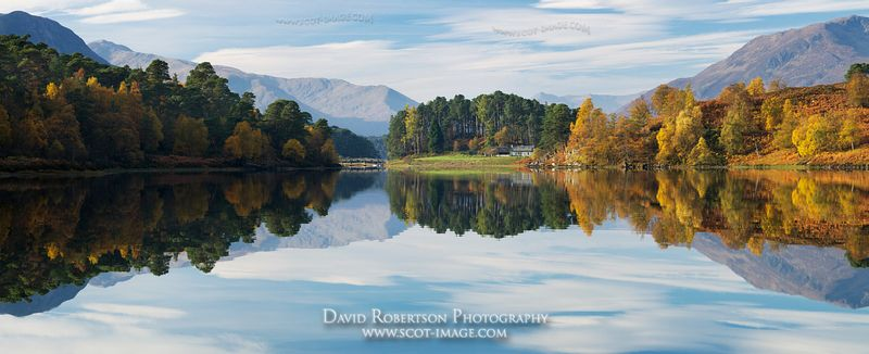 Image - Glen Affric, Highland, Scotland, Panoramic