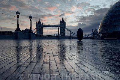 Tower bridge au lever