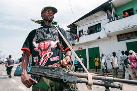 Civil War In Liberia