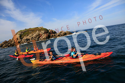 Photo de Canoë-Kayak avec figurants