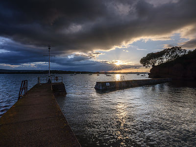 Sunset_across_Lympstone_harbour