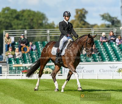 Arthur Chabert and GOLDSMITHS IMBER - Dressage - Land Rover Burghley Horse Trials 2019