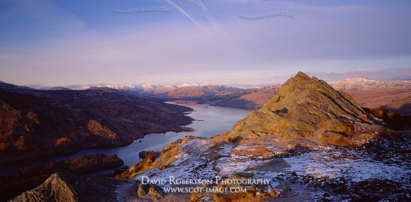 Image - Loch Katrine and Ben Aan, Trossachs, Scotland, Panoramic