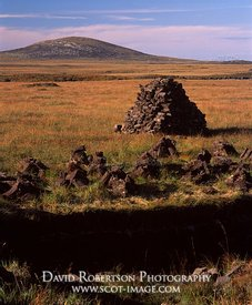 Image - Peat cutting and stack, North Uist, Na h-Eileanan Siar, Scotland