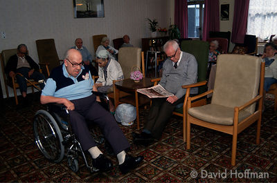 Oakeland council run residential home for old people in Hackney, London.