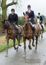 Mark Towns, Beanie Sturgis on Pasture Lane - The Belvoir Hunt at Hose 27/11