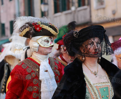 Disguised Mature Venetian woman