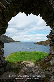 Image - Loch Carron from Strome Castle, Highland, Scotland