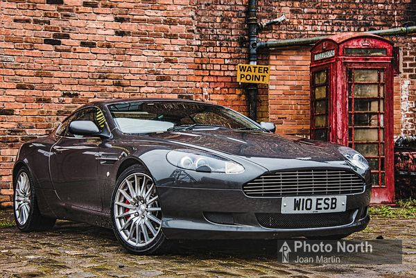 TYLDSLEY 19A - Aston Martin DB9 at Astley Green Colliery