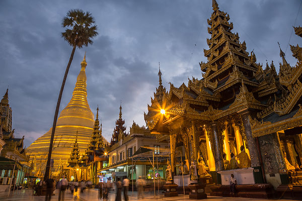 Shwedagon at Dusk III